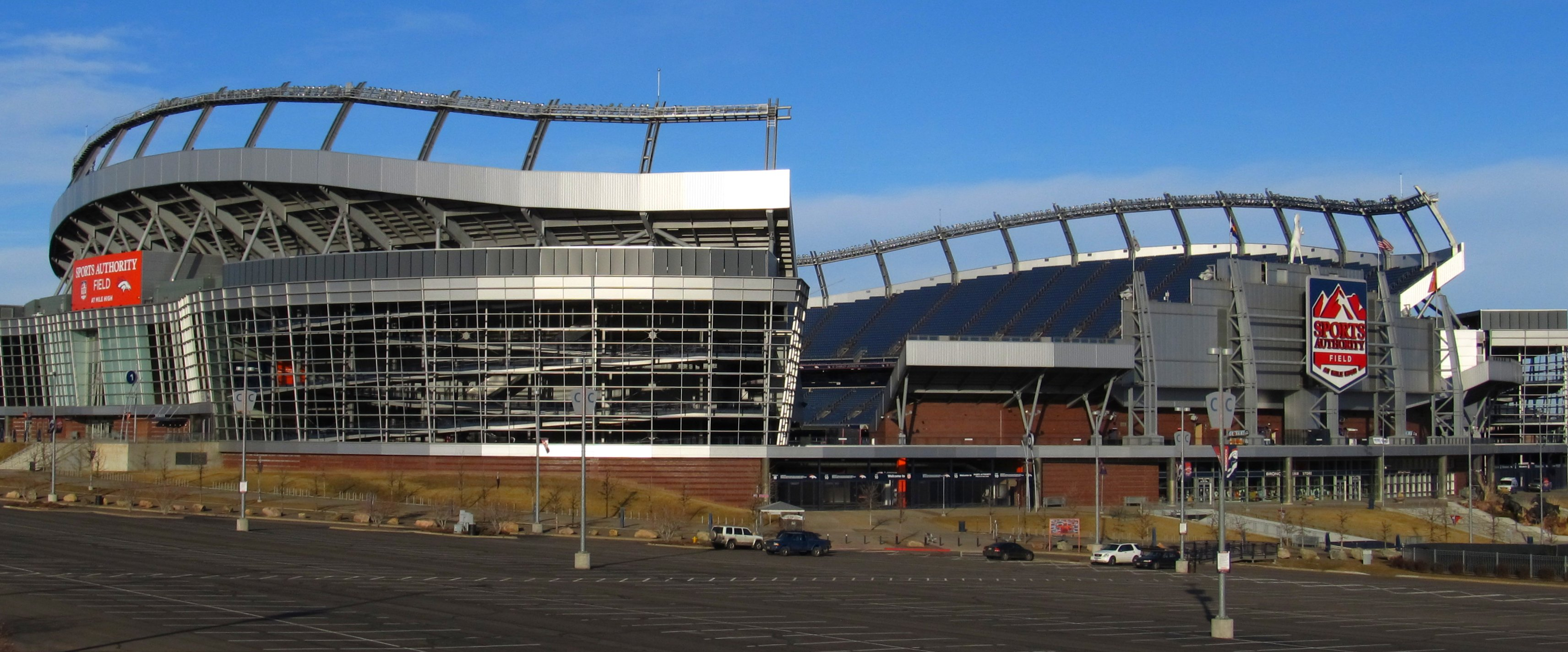 Empower Field At Mile High Parking Lots