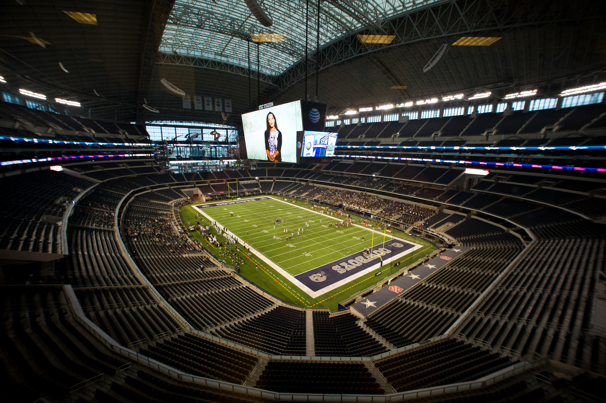 AT&T Stadium Parking Lots (formerly Dallas Cowboys Stadium Parking Lots)