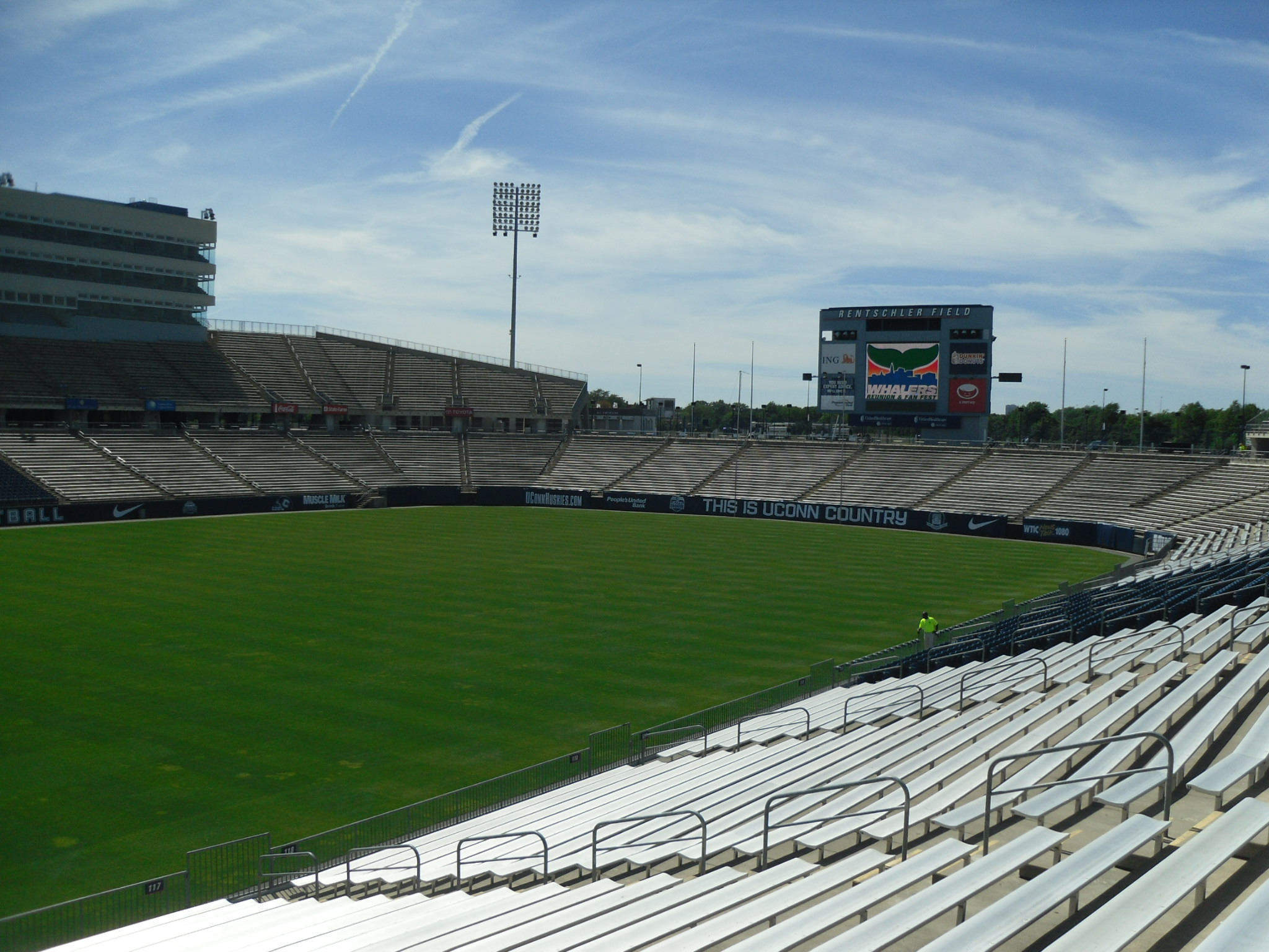 Pratt and Whit Stadium